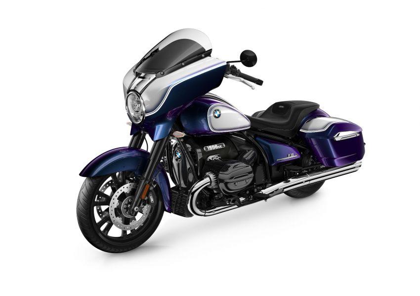 2022 BMW Motorrad R18 gets R18 Transcontinental and R18B Bagger variants, Marshall sound system Image #1324858