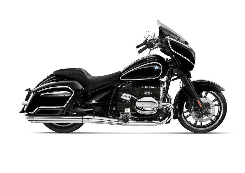 2022 BMW Motorrad R18 gets R18 Transcontinental and R18B Bagger variants, Marshall sound system Image #1324869