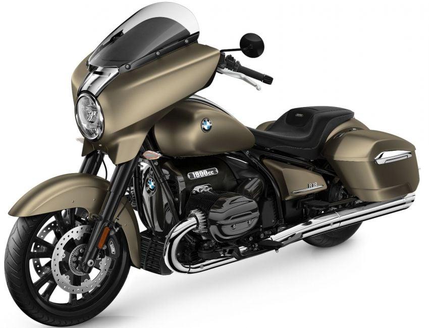 2022 BMW Motorrad R18 gets R18 Transcontinental and R18B Bagger variants, Marshall sound system Image #1324870
