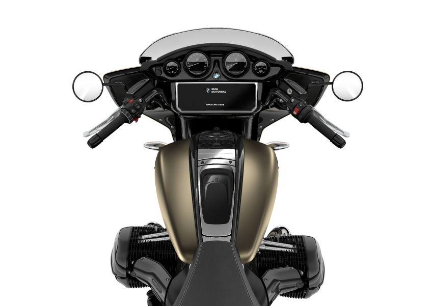 2022 BMW Motorrad R18 gets R18 Transcontinental and R18B Bagger variants, Marshall sound system Image #1324871
