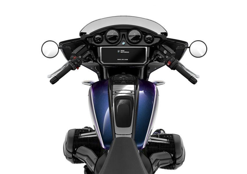 2022 BMW Motorrad R18 gets R18 Transcontinental and R18B Bagger variants, Marshall sound system Image #1324859
