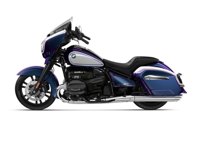 2022 BMW Motorrad R18 gets R18 Transcontinental and R18B Bagger variants, Marshall sound system Image #1324860