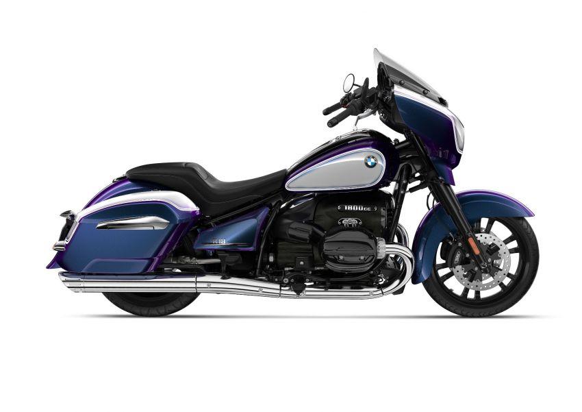 2022 BMW Motorrad R18 gets R18 Transcontinental and R18B Bagger variants, Marshall sound system Image #1324861
