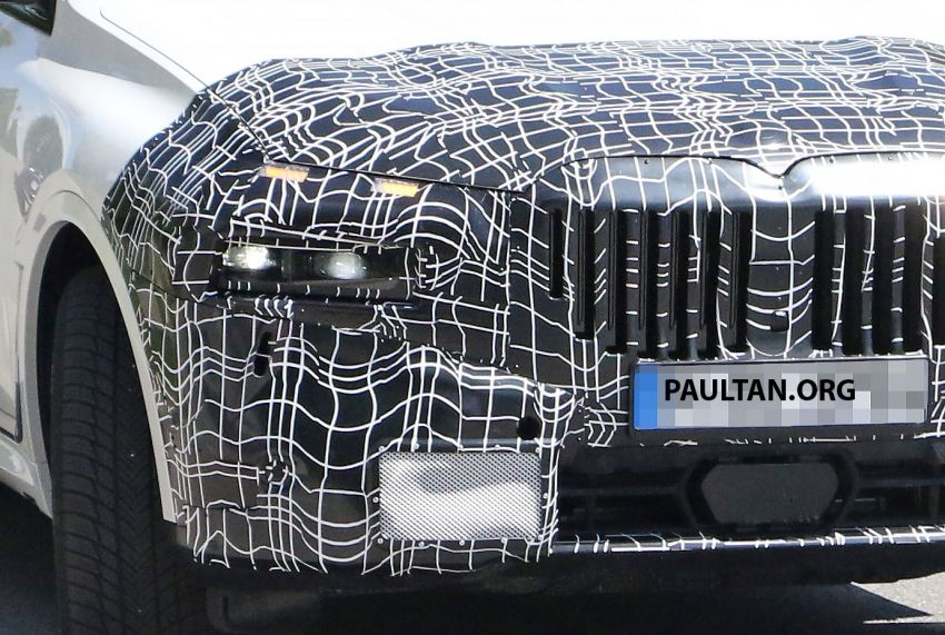 SPYSHOTS: BMW X7 LCI to come with split headlights Image #1315868