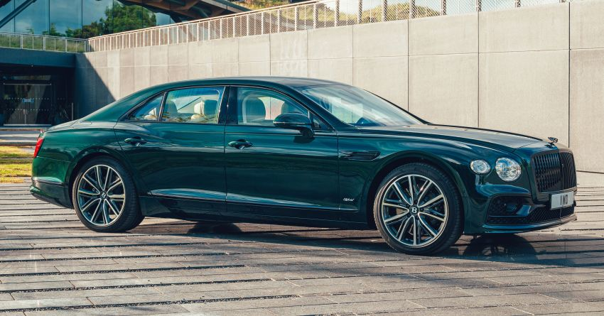2022 Bentley Flying Spur Hybrid debuts: 2.9L V6 PHEV with 544 PS & 750 Nm; 14.1 kWh battery, 40 km  range Image #1316200