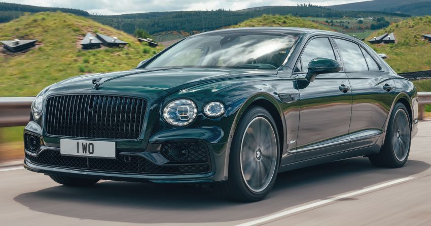 2022 Bentley Flying Spur Hybrid debuts: 2.9L V6 PHEV with 544 PS & 750 Nm; 14.1 kWh battery, 40 km  range Image #1316201