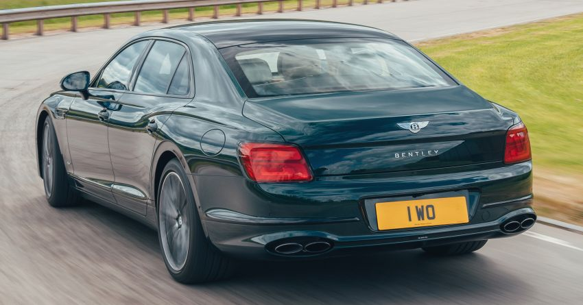 2022 Bentley Flying Spur Hybrid debuts: 2.9L V6 PHEV with 544 PS & 750 Nm; 14.1 kWh battery, 40 km  range Image #1316202