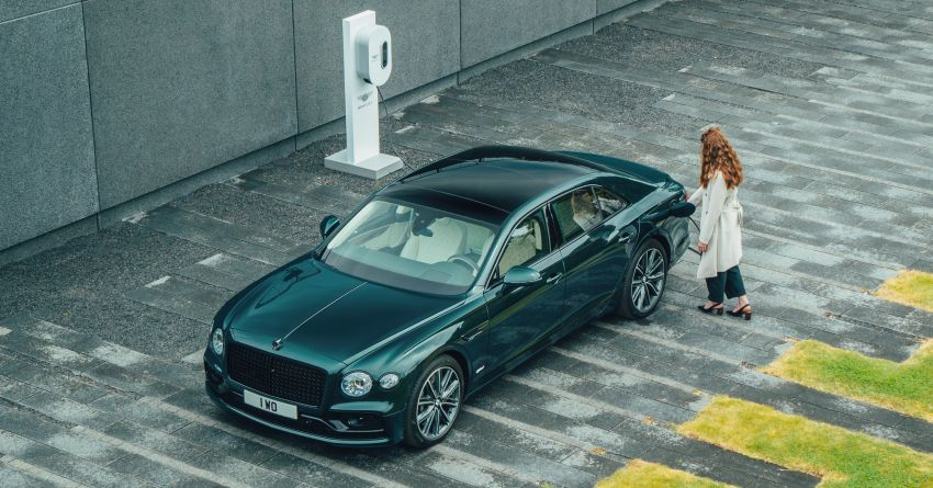 2022 Bentley Flying Spur Hybrid debuts: 2.9L V6 PHEV with 544 PS & 750 Nm; 14.1 kWh battery, 40 km  range Image #1316203