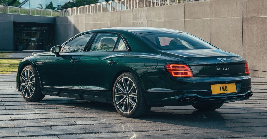 2022 Bentley Flying Spur Hybrid debuts: 2.9L V6 PHEV with 544 PS & 750 Nm; 14.1 kWh battery, 40 km  range Image #1316204
