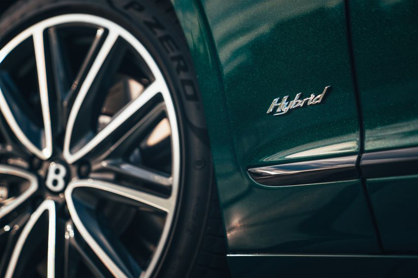 2022 Bentley Flying Spur Hybrid debuts: 2.9L V6 PHEV with 544 PS & 750 Nm; 14.1 kWh battery, 40 km  range Image #1316208