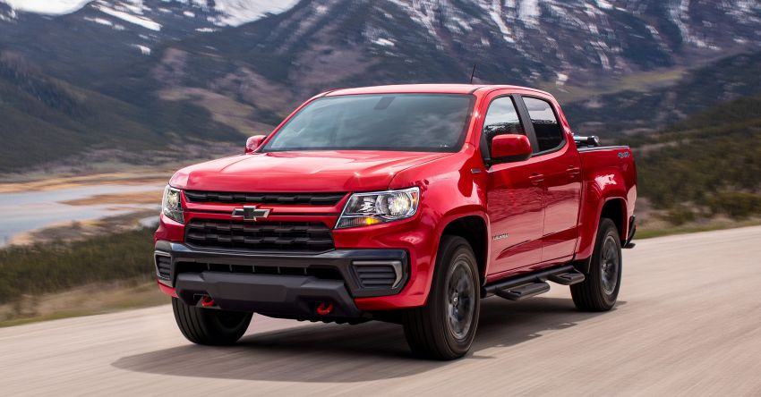 2022 Chevrolet Colorado adds Trail Boss Pack – adds suspension levelling kit, skid plates, tow hooks Image #1319675