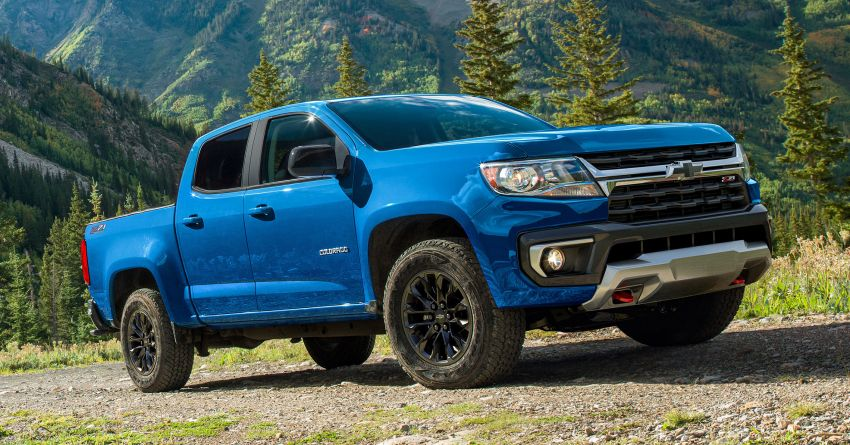 2022 Chevrolet Colorado adds Trail Boss Pack – adds suspension levelling kit, skid plates, tow hooks Image #1319676