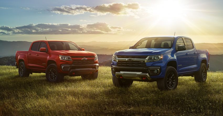 2022 Chevrolet Colorado adds Trail Boss Pack – adds suspension levelling kit, skid plates, tow hooks Image #1319677