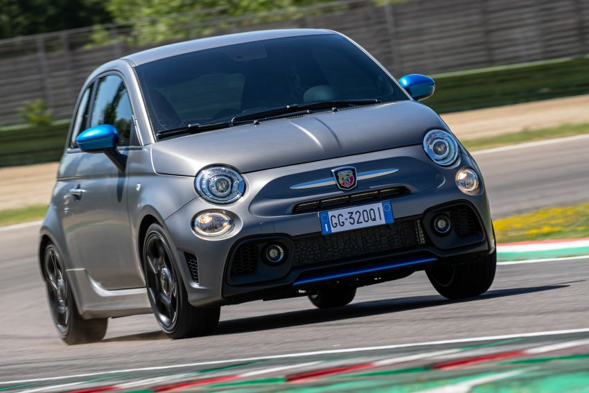 2022 Abarth F595 – 50th anniversary model with active exhausts, turbocharged 1.4L, from RM118k to RM141k Image #1319955