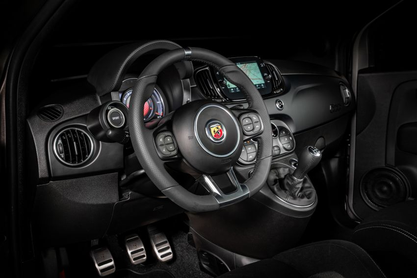 2022 Abarth F595 – 50th anniversary model with active exhausts, turbocharged 1.4L, from RM118k to RM141k Image #1319974