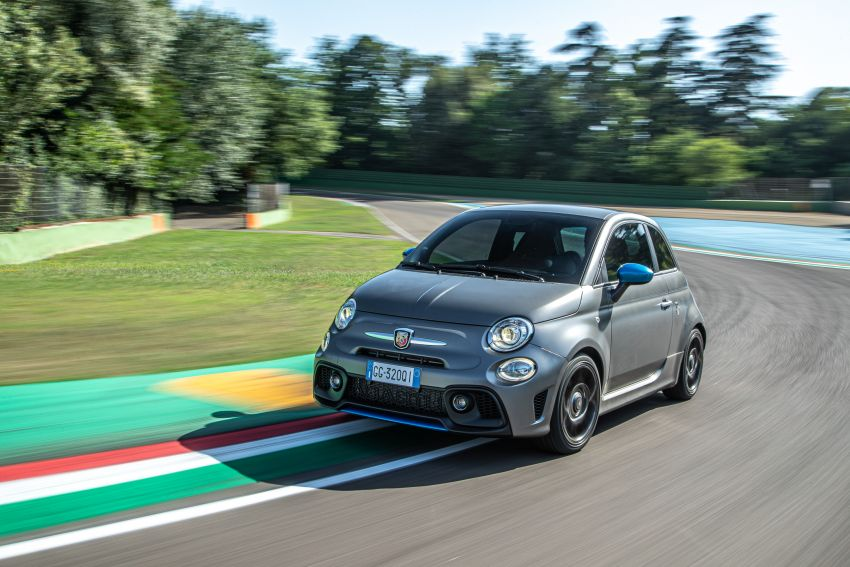 2022 Abarth F595 – 50th anniversary model with active exhausts, turbocharged 1.4L, from RM118k to RM141k Image #1319956