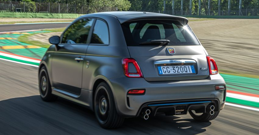 2022 Abarth F595 – 50th anniversary model with active exhausts, turbocharged 1.4L, from RM118k to RM141k Image #1319958