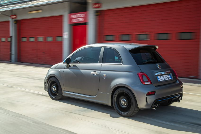 2022 Abarth F595 – 50th anniversary model with active exhausts, turbocharged 1.4L, from RM118k to RM141k Image #1319959