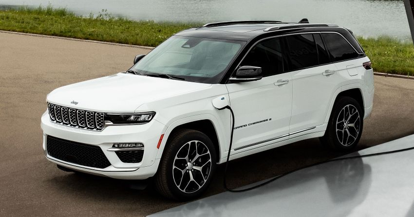 2022 Jeep Grand Cherokee 4xe shown for the first time Image #1317603