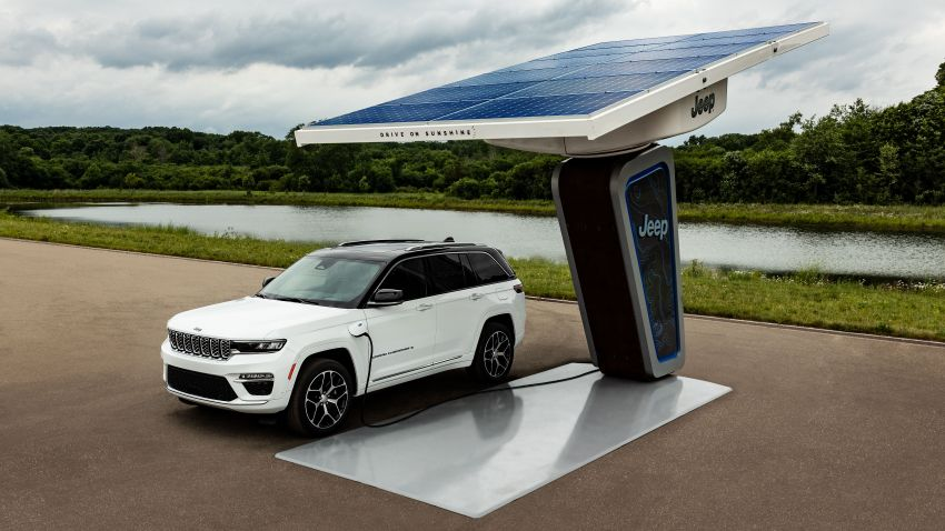 2022 Jeep Grand Cherokee 4xe shown for the first time Image #1317594