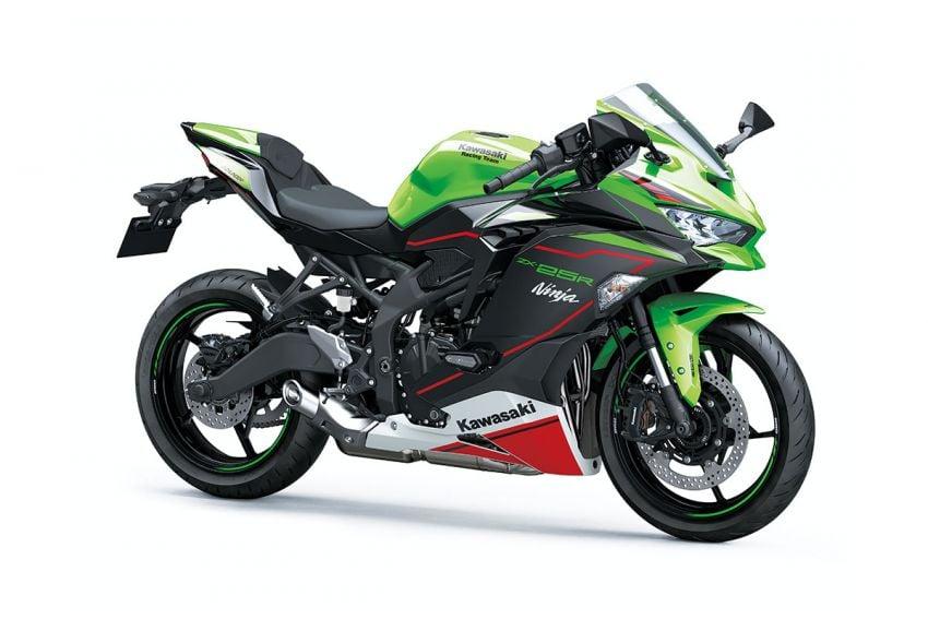 2022 Kawasaki ZX-25R Ninja new colours for Indonesia Image #1318275