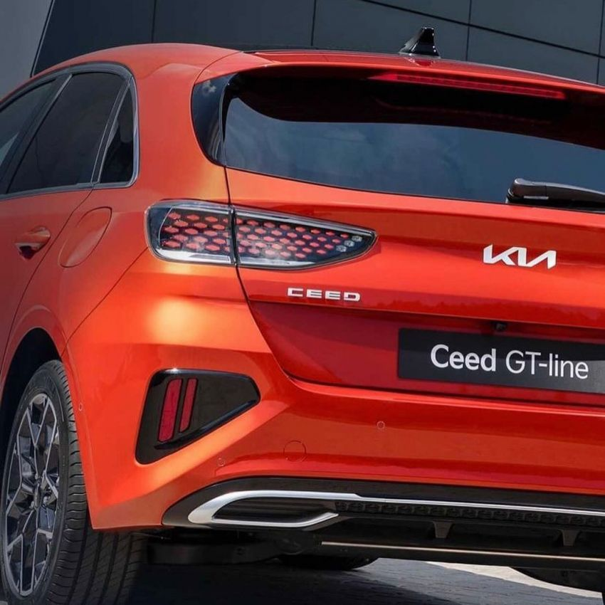 2022 Kia Ceed facelift range – official images leaked Image #1318955