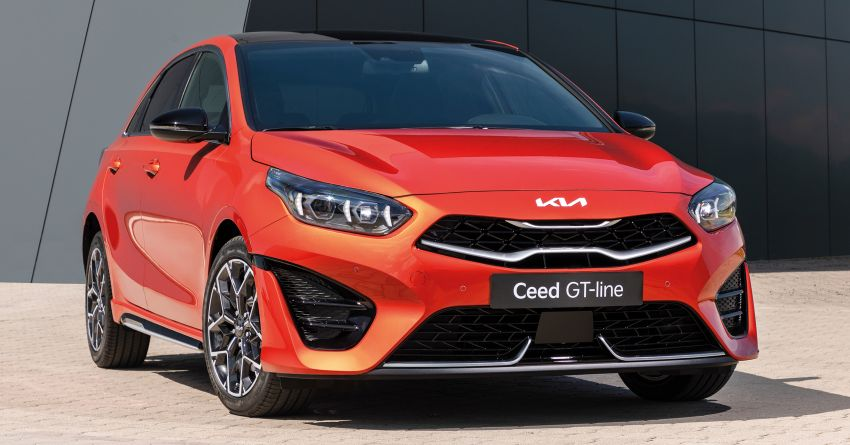 2022 Kia Ceed facelift unveiled – fresh exterior design with improved safety features, available in Q4 2021 Image #1319469