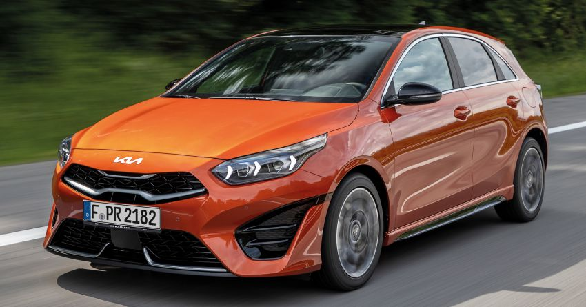 2022 Kia Ceed facelift unveiled – fresh exterior design with improved safety features, available in Q4 2021 Image #1319474