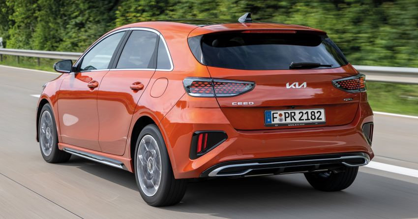 2022 Kia Ceed facelift unveiled – fresh exterior design with improved safety features, available in Q4 2021 Image #1319475