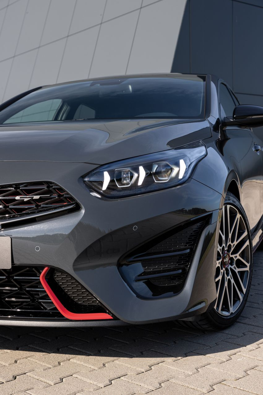 2022 Kia Ceed facelift unveiled – fresh exterior design with improved safety features, available in Q4 2021 Image #1319479