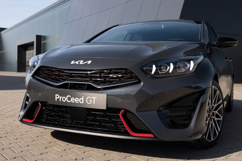 2022 Kia Ceed facelift unveiled – fresh exterior design with improved safety features, available in Q4 2021 Image #1319480