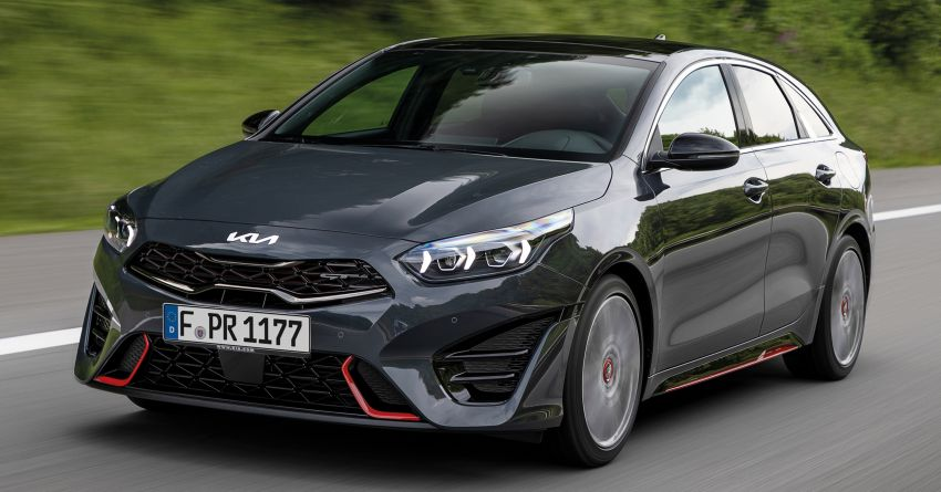 2022 Kia Ceed facelift unveiled – fresh exterior design with improved safety features, available in Q4 2021 Image #1319483