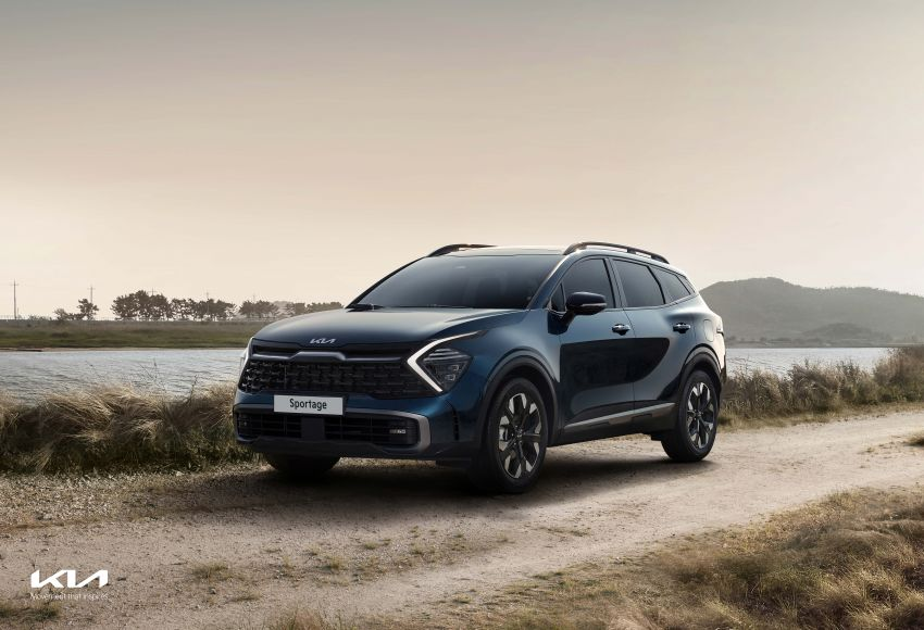 2022 Kia Sportage new details – 180 PS 1.6 TGDI and 186 PS 2.0 diesel at launch, hybrid and PHEV later on Image #1315914