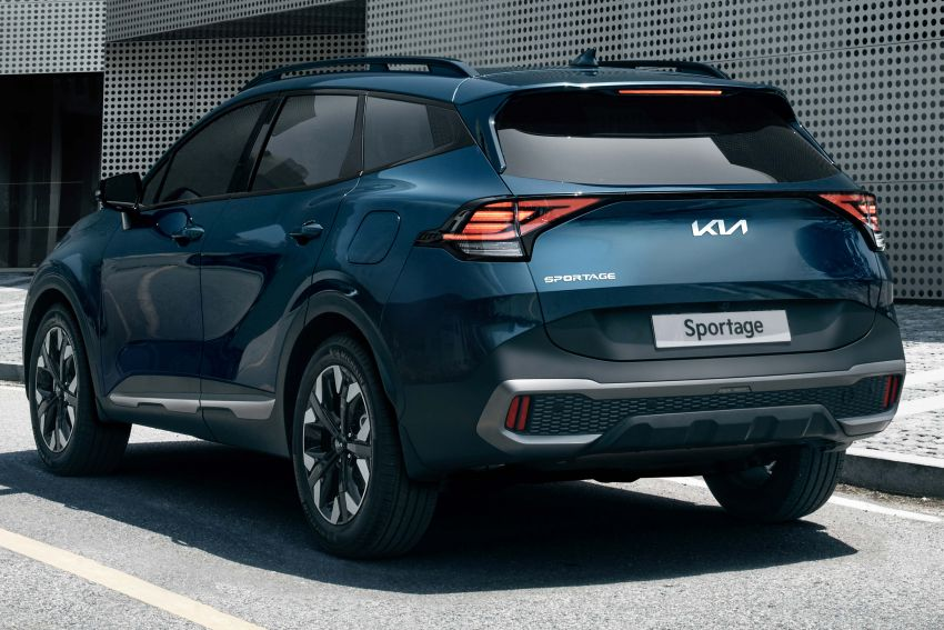 2022 Kia Sportage new details – 180 PS 1.6 TGDI and 186 PS 2.0 diesel at launch, hybrid and PHEV later on Image #1316027
