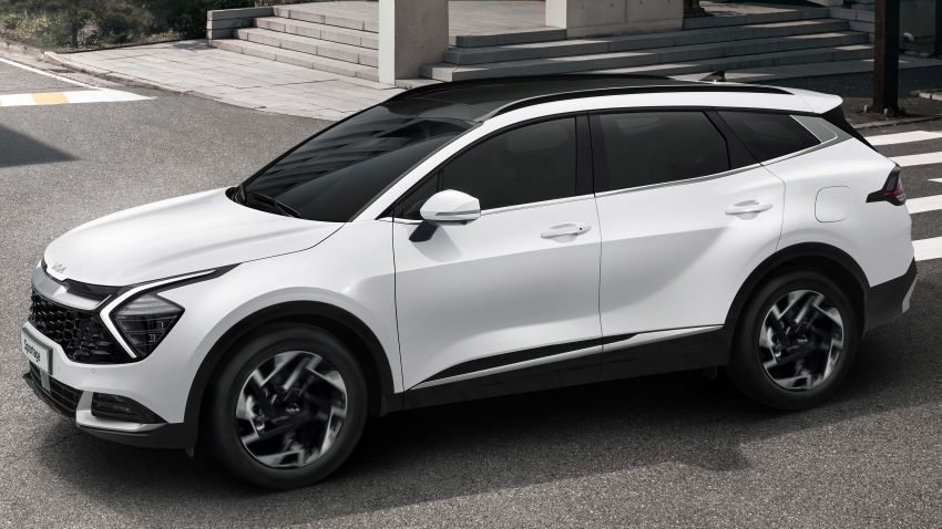 2022 Kia Sportage new details – 180 PS 1.6 TGDI and 186 PS 2.0 diesel at launch, hybrid and PHEV later on Image #1315917