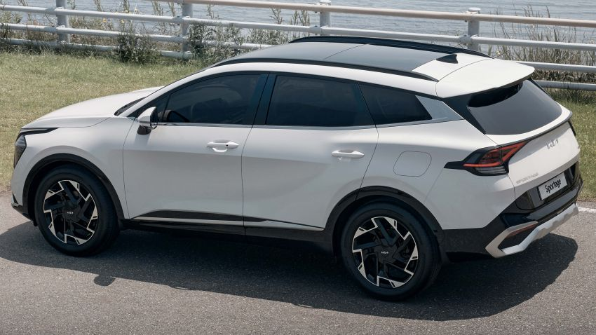 2022 Kia Sportage new details – 180 PS 1.6 TGDI and 186 PS 2.0 diesel at launch, hybrid and PHEV later on Image #1316028