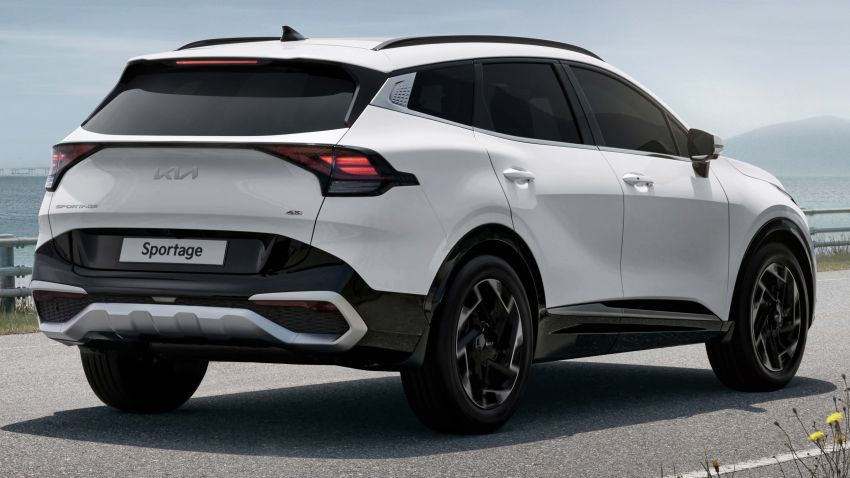 2022 Kia Sportage new details – 180 PS 1.6 TGDI and 186 PS 2.0 diesel at launch, hybrid and PHEV later on Image #1316029