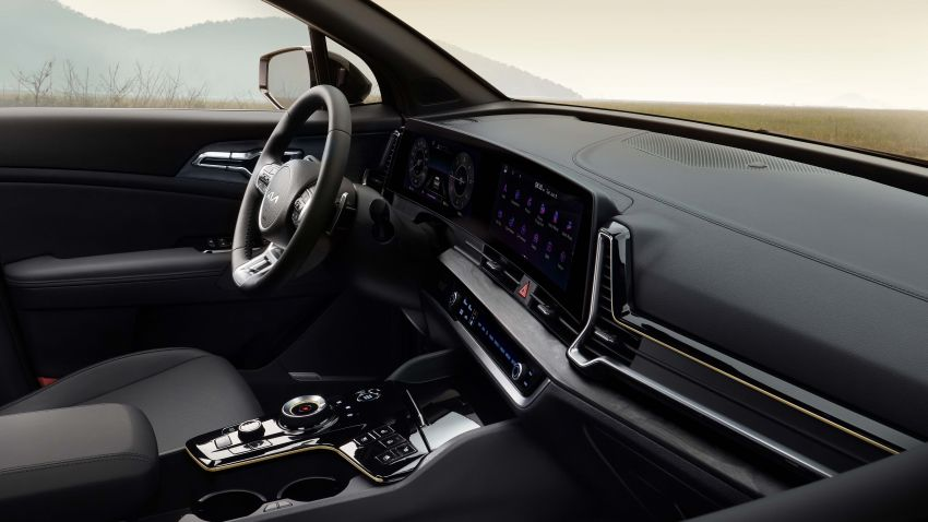 2022 Kia Sportage new details – 180 PS 1.6 TGDI and 186 PS 2.0 diesel at launch, hybrid and PHEV later on Image #1316031