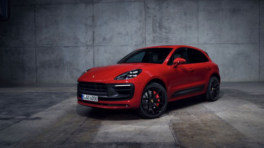 2022 Porsche Macan facelift – revised petrol SUV revealed with more power, minor aesthetic tweaks Image #1321228
