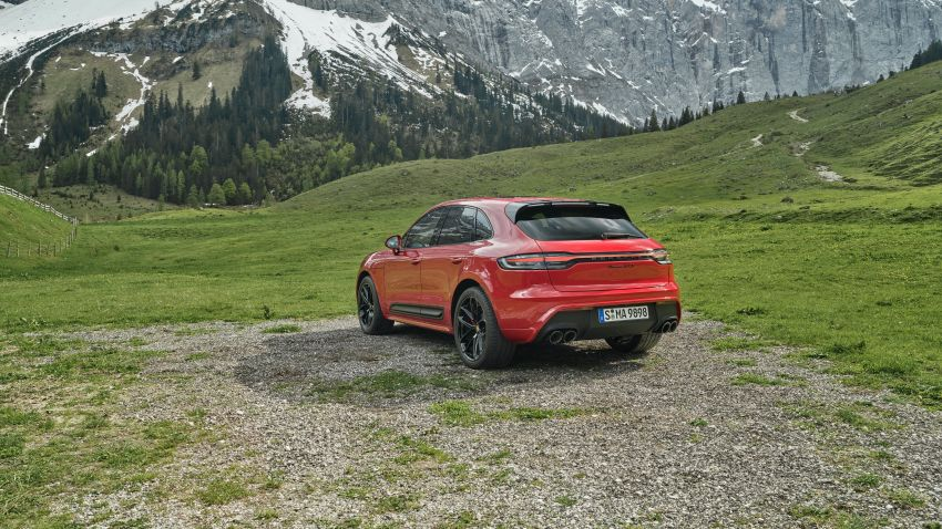 2022 Porsche Macan facelift – revised petrol SUV revealed with more power, minor aesthetic tweaks Image #1321238