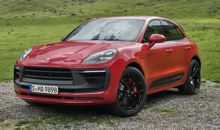 2022 Porsche Macan facelift – revised petrol SUV revealed with more power, minor aesthetic tweaks Image #1321239
