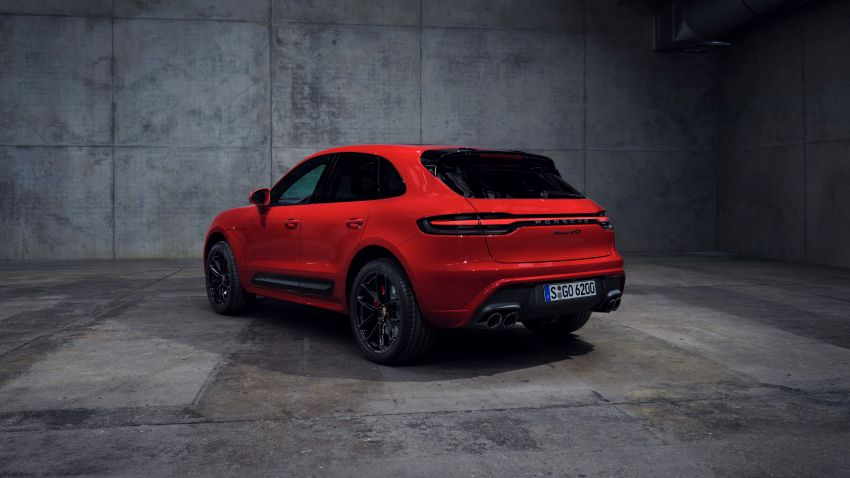 2022 Porsche Macan facelift – revised petrol SUV revealed with more power, minor aesthetic tweaks Image #1321229