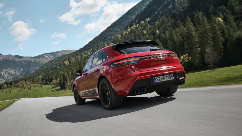 2022 Porsche Macan facelift – revised petrol SUV revealed with more power, minor aesthetic tweaks Image #1321232
