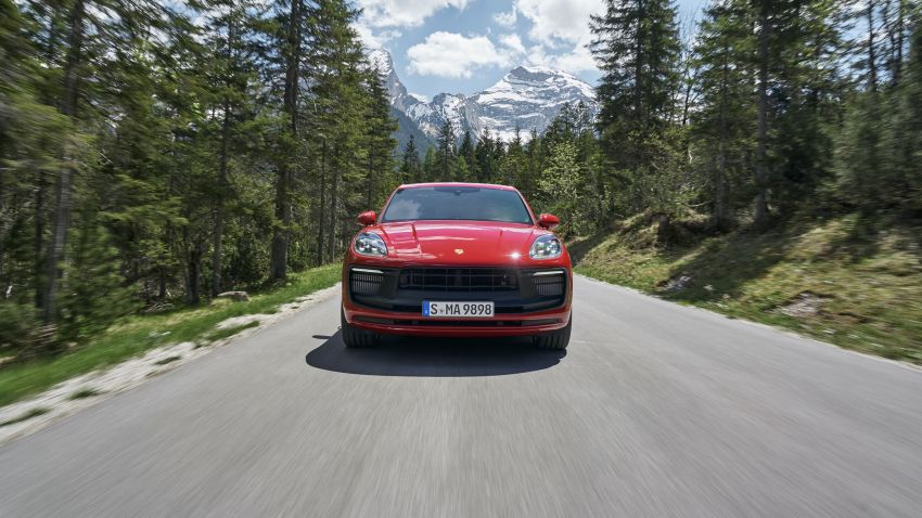 2022 Porsche Macan facelift – revised petrol SUV revealed with more power, minor aesthetic tweaks Image #1321236