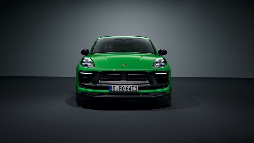 2022 Porsche Macan facelift – revised petrol SUV revealed with more power, minor aesthetic tweaks Image #1321240