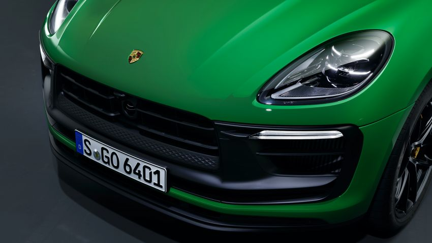 2022 Porsche Macan facelift – revised petrol SUV revealed with more power, minor aesthetic tweaks Image #1321253