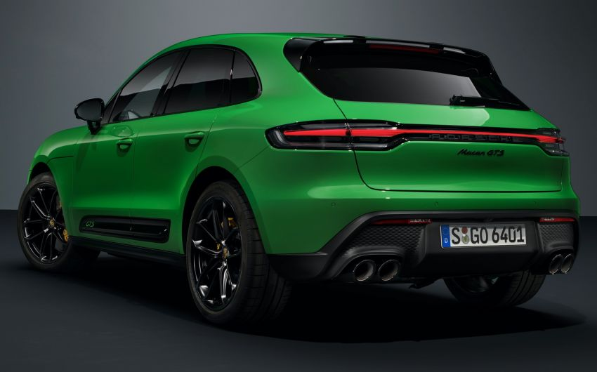 2022 Porsche Macan facelift – revised petrol SUV revealed with more power, minor aesthetic tweaks Image #1321243