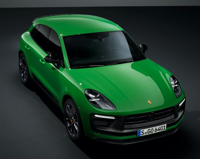 2022 Porsche Macan facelift – revised petrol SUV revealed with more power, minor aesthetic tweaks Image #1321245