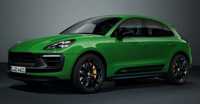 2022 Porsche Macan facelift – revised petrol SUV revealed with more power, minor aesthetic tweaks Image #1321247