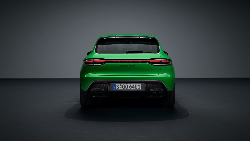 2022 Porsche Macan facelift – revised petrol SUV revealed with more power, minor aesthetic tweaks Image #1321249